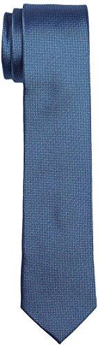 Calvin Klein Herren SLIM 6.4 cm Krawatte, Blau (PERIWINKLE 436), One size