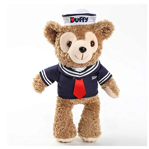 Mädchen Nette Marine Kostüm - Bär Shelliemay Plüschtier Nette Marine Matrosenanzug 24 cm Kostüm Gefüllte Puppe Baby Kinder Geburtstagsgeschenk