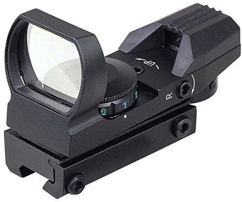 MAYMOC 11mm verstellbare Bodenschiene Anblick multi Fadenkreuz 4 Red Dot Anblick-Bereich Schwalbenschwanz Mountshunting und Außenkamera -Zubehör