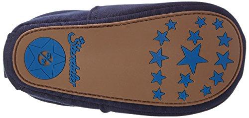 Sterntaler Baby Jungen Krabbelschuh Krabbel-& Hausschuhe Blau (Marine)