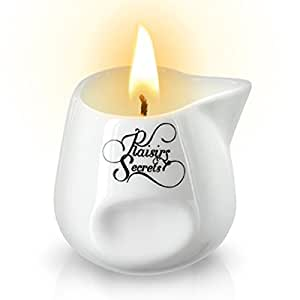 Plaisirs Secrets Bougie de Massage Gourmande Parfum Mojito 80 ml