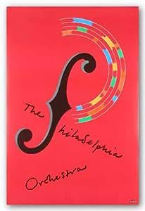The Philadelphia Orchestra de Milton Glaser Tirages d'Art Poster