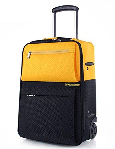 Oxford Cloth Silent Wheel Trunk Trolley Taschen Reisetaschen, 18 Zoll / 22 Zoll ( Farbe : 1 , größe : 18 inch ) 2