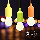 Lampade LED Lamp, Lampadina, Luce Decorativa,LED Lampada da Campeggio a LED, Luce da Campeggio Luminosa Per Il Campeggio Escursionismo Luce da Emergenza (3 PCS)
