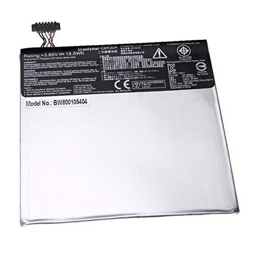 vhbw Batterie Li-Polymer 3900mAh (3.8V) pour Netbook Pad Tab Tablette ASUS ME170C, MemoPad ME170c comme 0B200-00950000, C11P1327, C11-P1327.