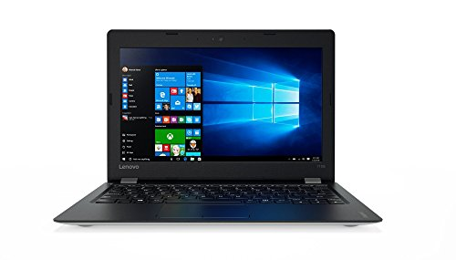 Lenovo ideapad 110S 29,46cm (11,6 Zoll HD Anti-Glare) Slim Notebook (Intel Celeron N3060, 4GB RAM, 256GB SSD, Intel HD Grafik 400, Windows 10 Home) silber