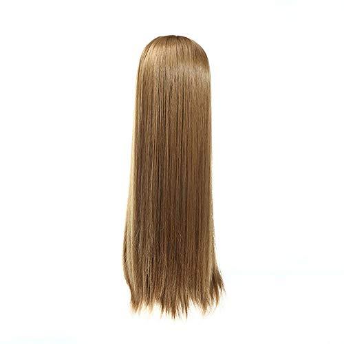 Littlefairy Halb Ein Glattes Haar Perücke Stück