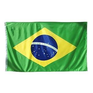 Länder Fahne 90 x 150 cm Abasonic® (Brasilien)