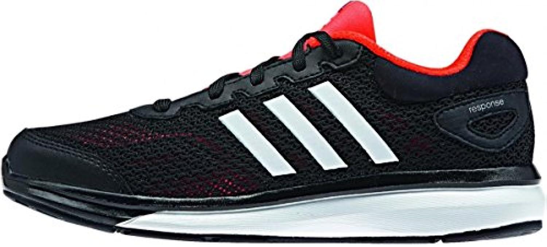 adidas - Zapatillas de running para hombre multicolor negro/ rojo , color Rojo - rosso, tamaño 3 UK / 36 EU