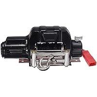 VISTARIC 9 Unids Vehículo Tracción Eléctrica Winch + M2.5 x 4 / 6mm Tornillos para SCX10 RC4WD Z-S1079