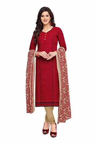 Miraan Printed Unstitched Cotton Dress Material And Churidar Suit For Women (BAND1620)