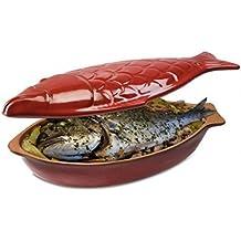 Piral olla de pescado 33cm–rojo olla poisson33RG