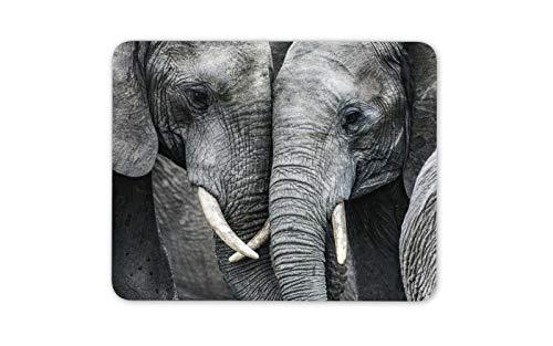 Alfombrilla de ratón, diseño de Elefantes en el Amor