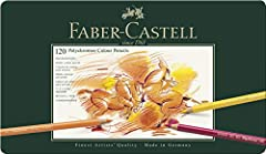 Idea Regalo - Faber-Castell Polychromos Matite colorate, custodia con 120 matite