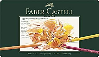 Faber-Castell 110011 - Künstlerfarbstift POLYCHROMOS, 120er Metalletui (B000EWYCX0) | Amazon Products