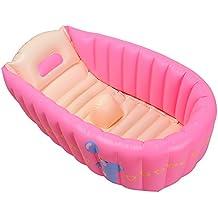 dingang tragbar aufblasbar Baby Bad 0–3Jahr Kids Badewanne Haarverdichtung klappbar Kinder Waschbecken Kinder Badewanne Baby Pool blau