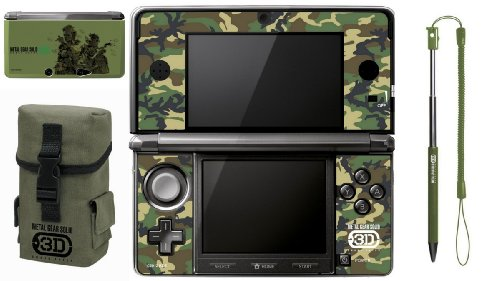 Nintendo 3DS - Metal Gear Solid - Snake Eater 3D Accessory Set