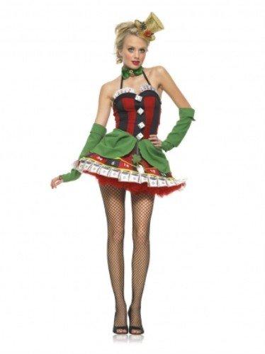 Würfel Kostüm - Leg Avenue Lady Luck Kostüm , 1 Stück