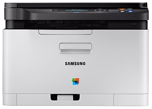Samsung Xpress SL-C480W/TEG Farblaser-Multifunktionsgerät (mit Mobile-Print via NFC) schwarz/weiß
