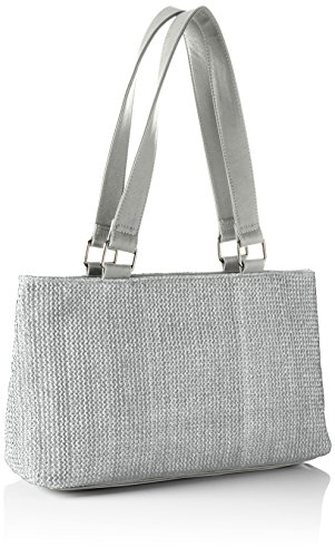 Betty Barclay Damen Bb-1188-Ce Schultertasche, 11x24x42 cm Grau (Grey)