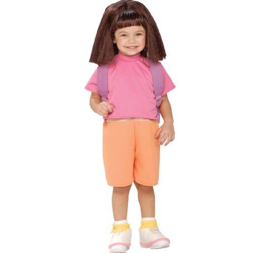 Rubie s Kost-m &Apos; Co 33182 Dora The Explorer Halloween Sensations Dora Kinderkost-m Klein-Girls ()