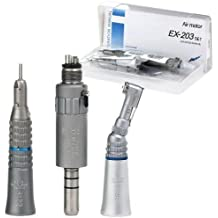NEW NSK Style Dental Slow Low Speed Handpiece air motor e-type Kit Set 4H holes EX-203 by NSK