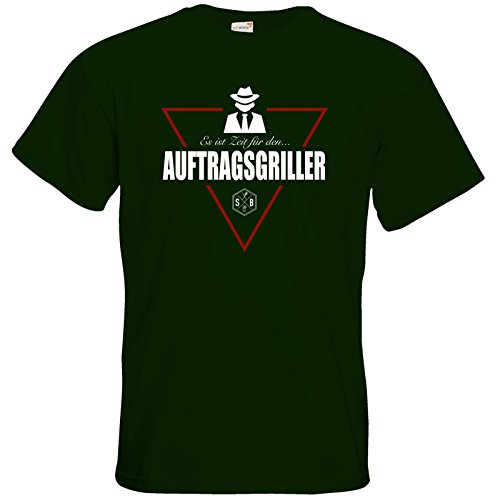 getshirts - SizzleBrothers Merchandise Shop - T-Shirt - SizzleBrothers - Grillen - Auftragsgriller Bottle Green