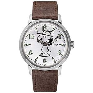 Reloj Timex TW2R94900D7 Marron Acero 316 L Mujer