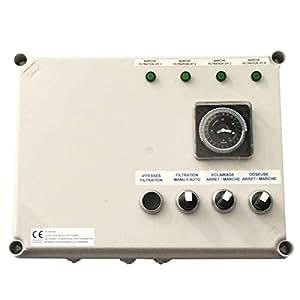 Astral - Coffret Variation Vitesse Astral Pompe De Filtration Tri 3 Cv
