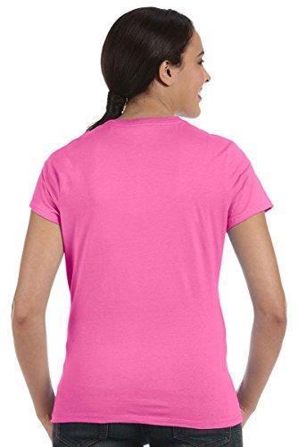 Everybody's Gay auf American Apparel Fine Jersey Shirt Blau (Aquatic Blue)