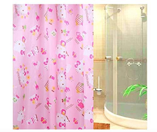 Hello Kitty Pinky Kitty Shower Curtain/Tenda da Doccia