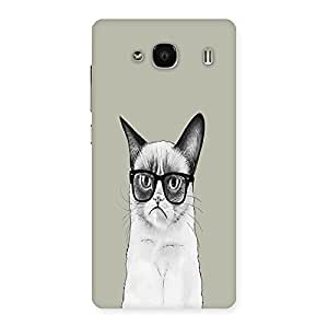 NEO WORLD Remarkable Inteligent Catses Back Case Cover for Redmi 2
