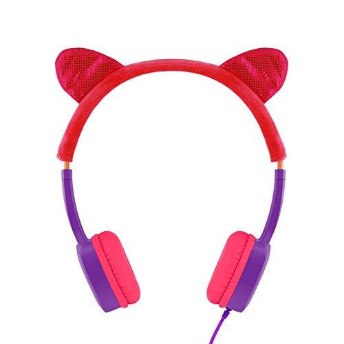 Webla Kopfhörer für Kinder Spielzeug Kopfhörer mit skalierbarem Englischlernen, Abs -