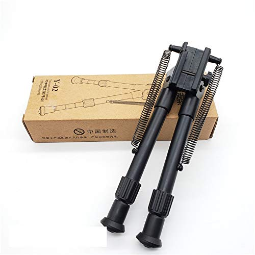 SHIYM-JJIA, for Airsoft M4 Barrett Support modifié 20-23mm Piste Gun Eau en Plastique Trépied Tactique Bricolage concurrentiel Accessoires de Paintball (Couleur : A Set)