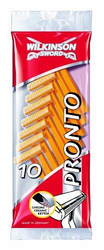 Wilkinson Sword Pronto Einwegrasierer, 100 Stück, 10er Pack (10 x 10 Stück)