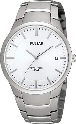 Pulsar Uhren Herren-Armbanduhr XL Modern Analog Titan PS9009X1