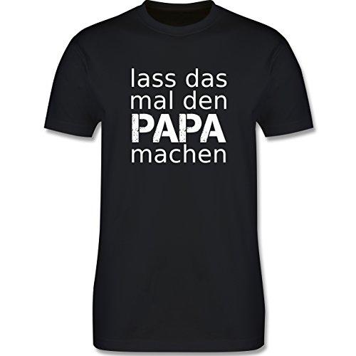Vatertag - Lass Das Mal Den Papa Machen - M - Schwarz - L190 - Herren