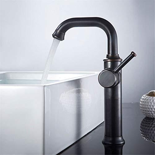 ike Badezimmerhahn kann die Töpfe auf dem Podest drehen, das heiße Wasser und das heiße Wasser und die Messinghähne des Beckens. ()