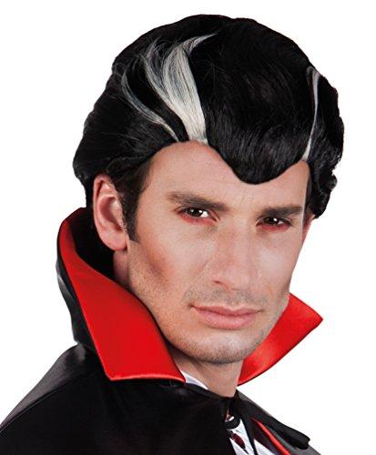 ,Karneval Klamotten' Kostüm Perücke Vampir Dracula Mann Kurz Zubehör Halloween Karneval