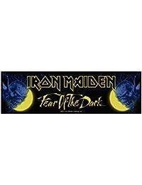 Parche De Iron Maiden–Fear of the Dark–Iron Maiden Patch–Stripe tejida & licencia oficial..
