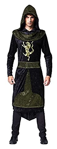 Costumes Prince-enfants - Medieval Prince (Hooded Robe) costume Adult Fancy