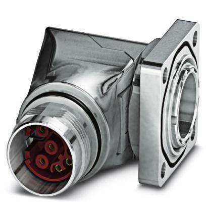 Phoenix Contact Gerätesteckverbinder ST-17S1N8AA400S Vorderwand Rundsteckverbinder, Einbau (ohne Leitung) 4046356828161