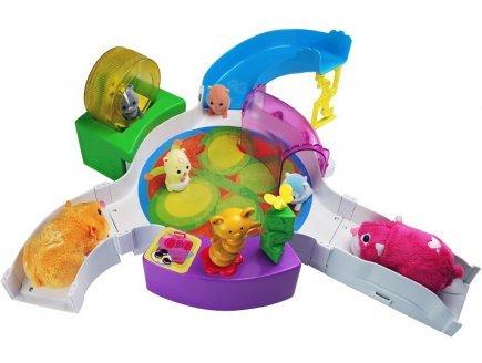 Zhu zhu pets bebe - centre sportif - baby gym - babies - giochi preziosi - 81139