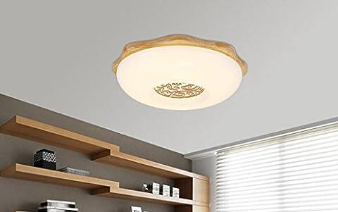 Jingzou led salon lumières de la pièce lampes moderne minimaliste bureau lampe de chambre lampe de restaurant plafond 45CM 24W