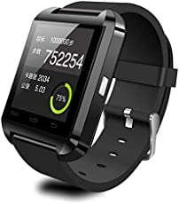 Piqancy U8 Bluetooth Smart Notification Wrist Watch Smart Phone with Touch Screen SIM Card, TF Card for All Smartphone
