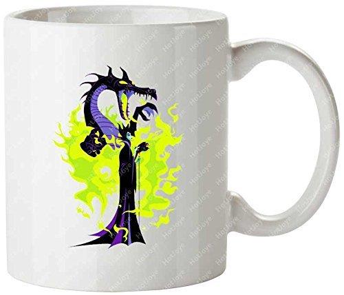 Mistress Of All Evil Walt Disney Sleeping Beauty Maleficent Princess Aurora LOGO Mug/Tazas de desayuno cup Beer Mug/Tazas de desayuno