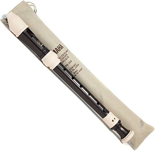 Yamaha YRS32B Flauto Dolce, Soprano in Do, Barocco, Nero