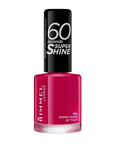 Rimmel - 60 Seconds Super Shine - Vernis à ongles Gimme Some Of That - 8 ml (Violet)