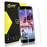 CRXOOX Panzerglas Schutzfolie für Samsung Galaxy S7 Edge Panzerglasfolie - 9H Härte Full Cover Glas Folie Case Friendly, 3D Curved Ultra Dünn HD Klar Displayschutzfolie Panzerfolie für S7 Edge