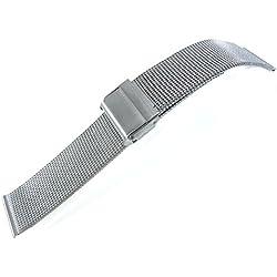 JRRS7777 24mm Stainless Steel Mesh Bracelet New Design 0.5mm Wire Titanium Wristband